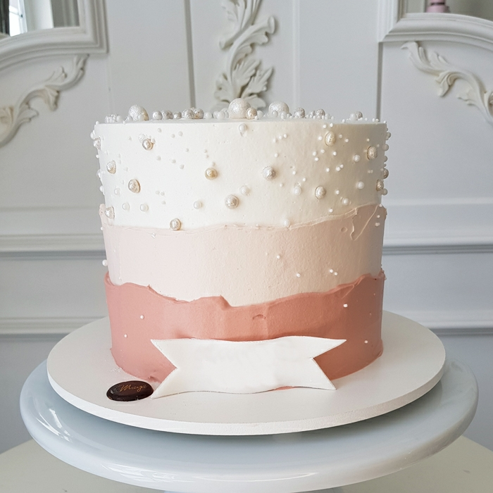 Pink Pearl Cake